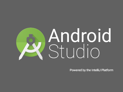 The glorious Android Studio starup screen