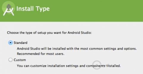 Android Studio Standard Install