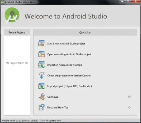 Welcome to the Android Studio Jungle