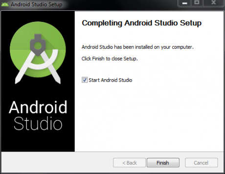 Android Studio is ALIVE!